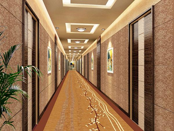 Tông màu vàng sậm rất hợp với không khí sang trọng trong khách sạn 5 sao