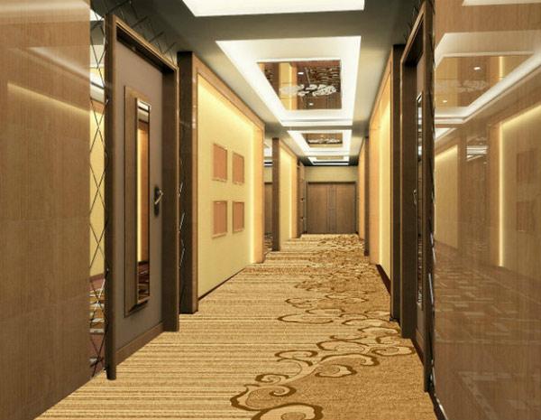 Thảm trải sàn tăng sự ấm áp và thời thượng trong không gian hành lang