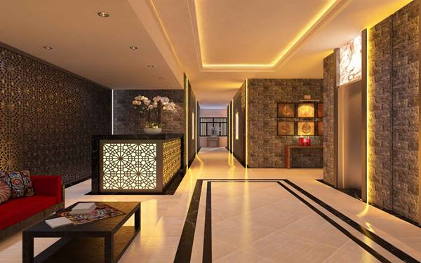 """Bí quyết thiết kế hành lang khách sạn 5 sao """"đẹp hết phần thiên hạ"""""""