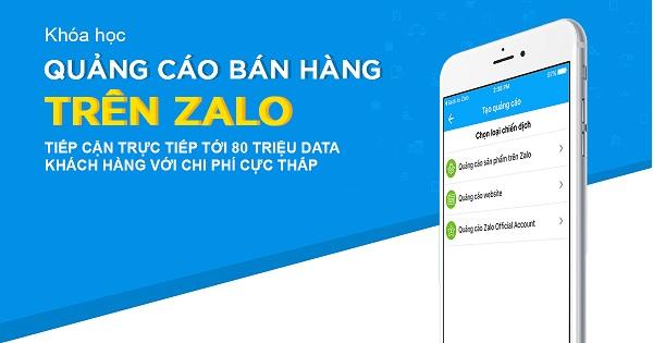 Các khóa học Zalo ads hiện đang được Học viện Zalo cung cấp cho các học viên có nhu cầu
