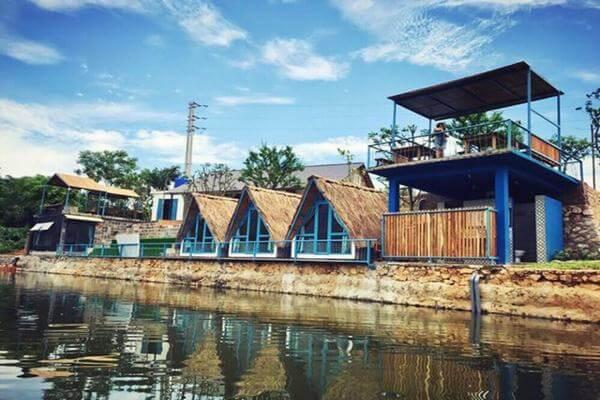 Các homestay Tochi Garden được xây dựng theo phong cách đặc biệt