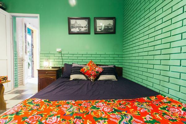 Phòng ngủ trong homestay 1991