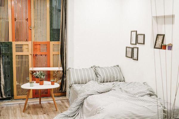 Một phòng ngủ trong Homestay Michi