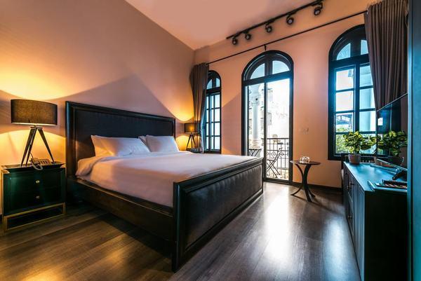 Phòng ngủ sang trọng, hiện đại của Olive Residence
