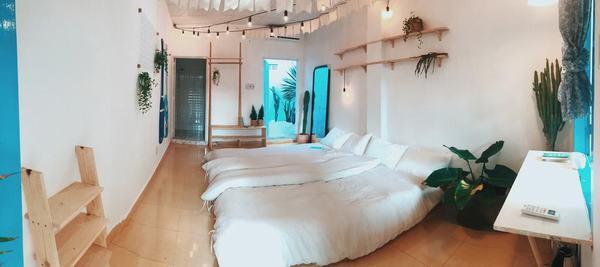 Phòng ngủ sang trọng của Kokoro Homestay