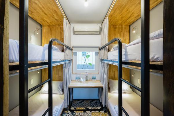 Phòng ngủ giường tầng của Ccasa homestay