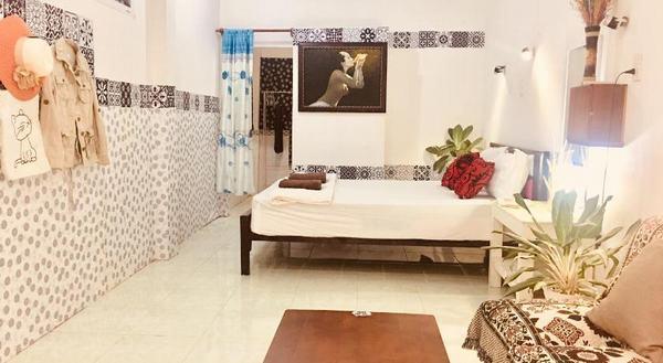 Phòng ngủ tiện nghi của Mia Homestay