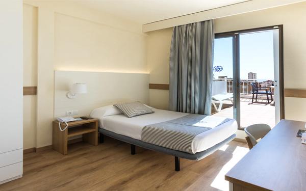 Single bedroom thường có diện tích nhỏ cho 1 người ở