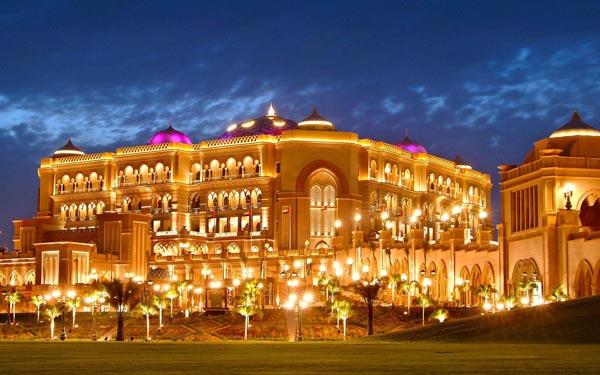 Khách sạn Emirates Palace, Abu Dhabi