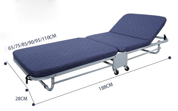 Dòng Extra bed có chiều dài 188cm, chiều rộng có nhiều kích thước lựa chọn
