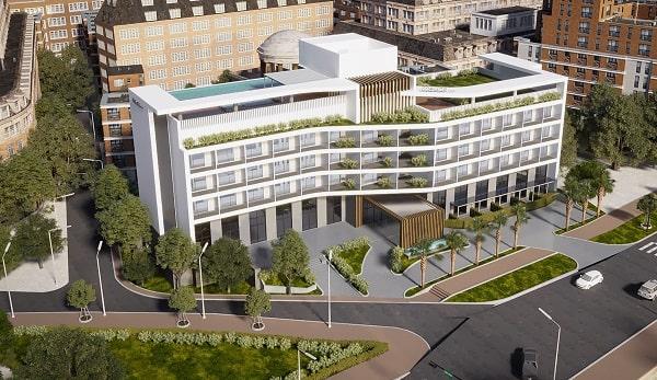 Một số mẫu kiến trúc khách sạn 4 sao hot nhất hiện nay