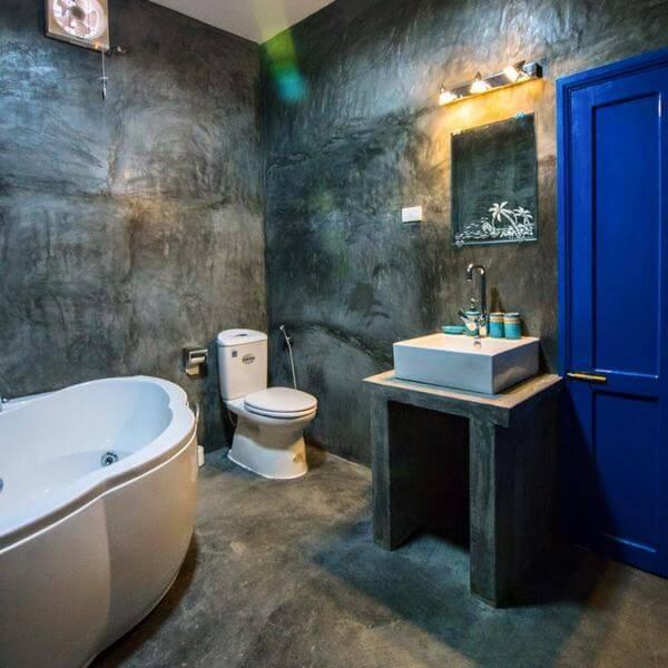 Nhà tắm ở homestay sạch sẽ