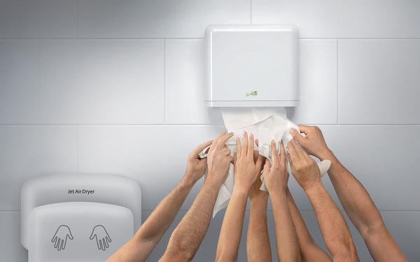 Tại sao nên sử dụng máy sấy tay ở nhà vệ sinh