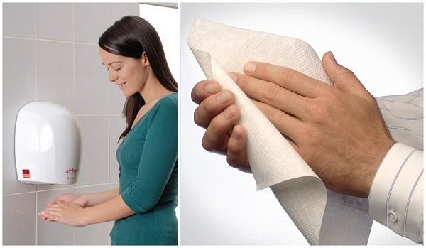 Việc trang thiết bị máy sấy tay trong nhà một số cũng lấy được cảm tình của mọi người