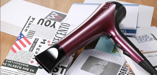 Máy sấy tóc không gây ra tiếng ồn ào có kiểu dáng tương tự máy sấy tóc thông thường