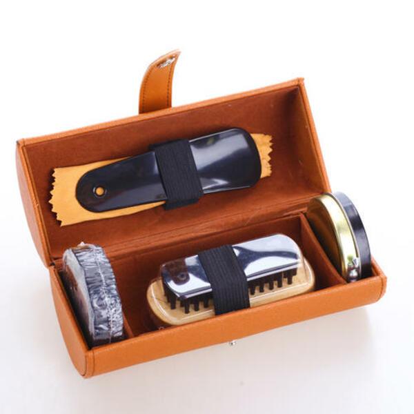 Hộp đựng dụng cụ đánh giày nhỏ, gọn, bắt mắt
