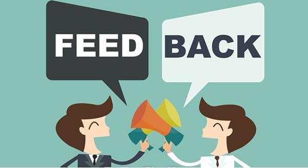 Đăng feedback từ các khách hàng cũ nhằm tăng độ tin tưởng