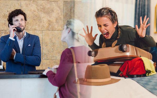 Trong kinh doanh khách sạn, có rất nhiều tình huống khó xử xảy ra