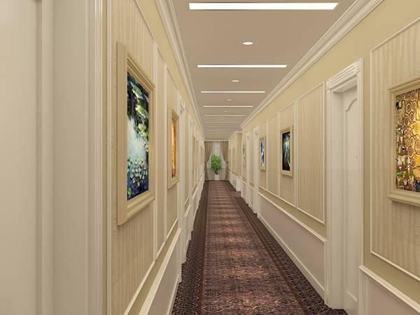 đồ nội thất hành lang khách sạn