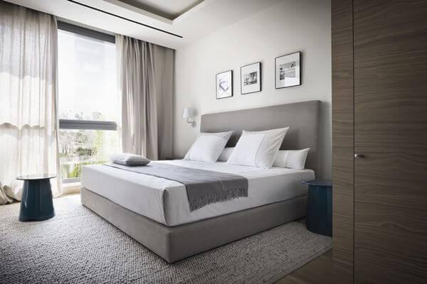 Nội thất phòng ngủ trong khách sạn