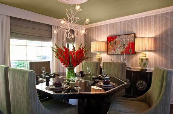 Phòng ăn hiện đại, trang trí nổi bật trong khách sạn