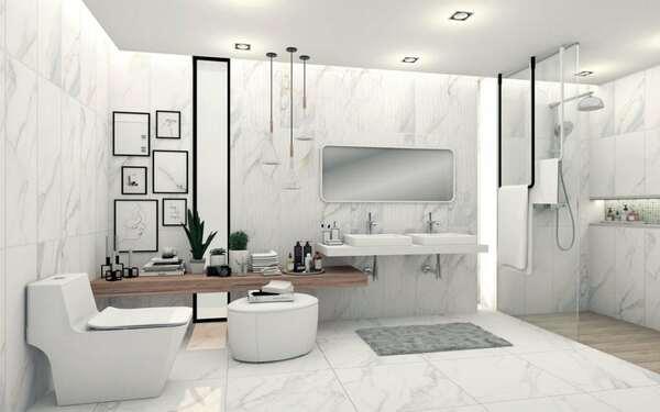 Nội thất phòng tắm khách sạn sang trọng nâng tầm đẳng cấp không gian
