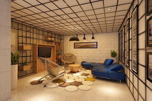 Phòng thiết kế đặc biệt khác với những không gian phòng khác trong khách sạn