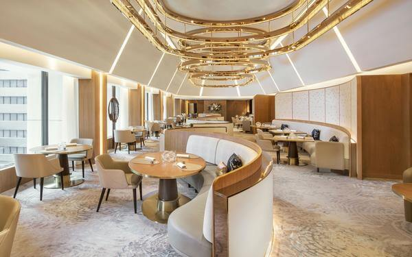 Thiết kế phòng ăn khách sạn tuyệt đẹp sang trọng ai cũng thích mê