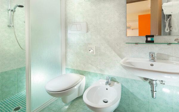 Không gian phòng tắm luôn chú trọng đến sự tiện nghi