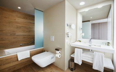 Tổng hợp thiết kế phòng tắm khách sạn 4 sao không bao giờ lỗi mốt