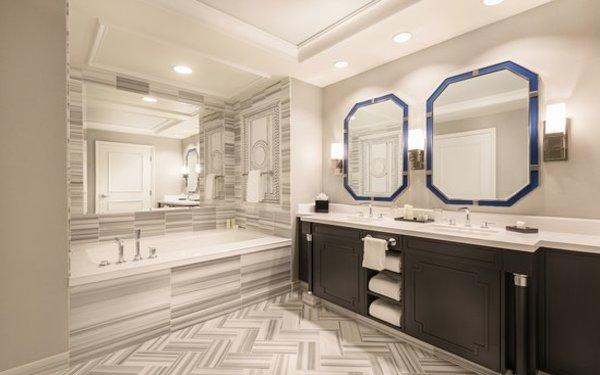 Phòng tắm nổi bật với các thiết kế tạo hình độc đáo