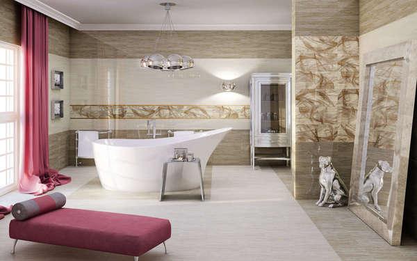 Phòng tắm được thi công bằng đá hoa cương cao cấp