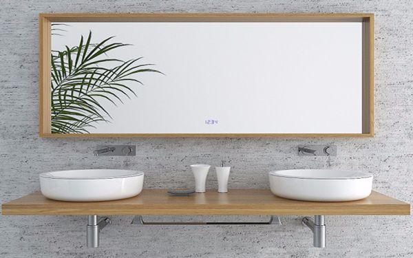 Gương soi phòng tắm khách sạn có tính thẩm mỹ cao