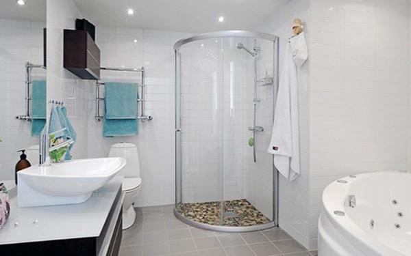 Các thiết bị vệ sinh phòng tắm đầy đủ tiện nghi