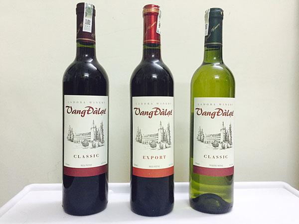 Rượu vang Đà Lạt đã khẳng định được vị thế của mình trên trường quốc tế