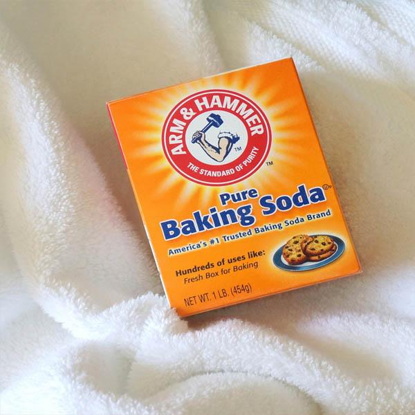 Tẩy vết bẩn trên khăn spa