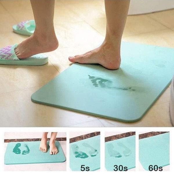 Thảm đá chùi chân là gì?Thảm đá chùi chân có siêu thấm và an toàn?