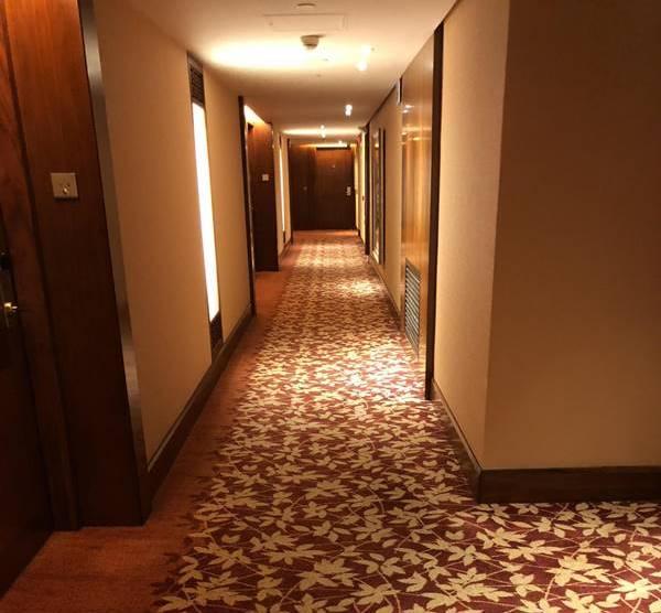 Thảm trải hành lang khách sạn có vai trò rất quan trọng trong việc tạo ấn tượng với khách hàng