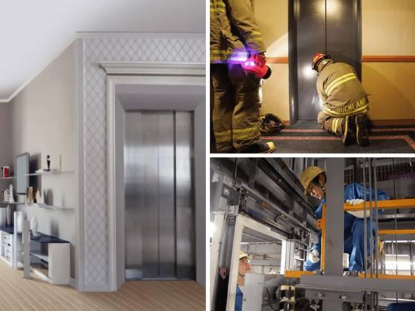 hệ thống thang máy khách sạn 2 sao