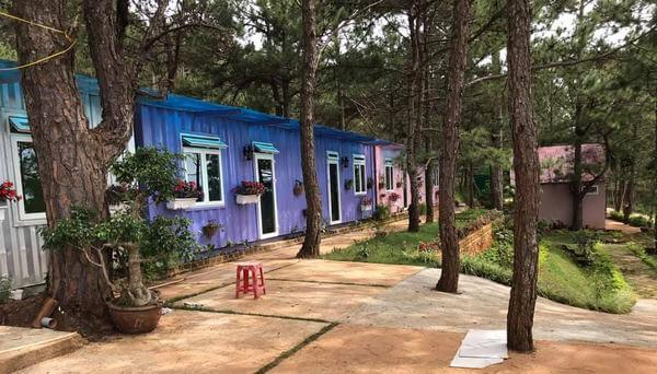 Thiết kế homestay container hòa hợp thiên nhiên
