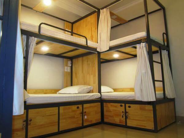 Giường tầng là lựa chọn hàng đầu cho homestay nhỏ