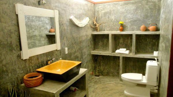 Nhà tắm và nhà vệ sinh của homestay