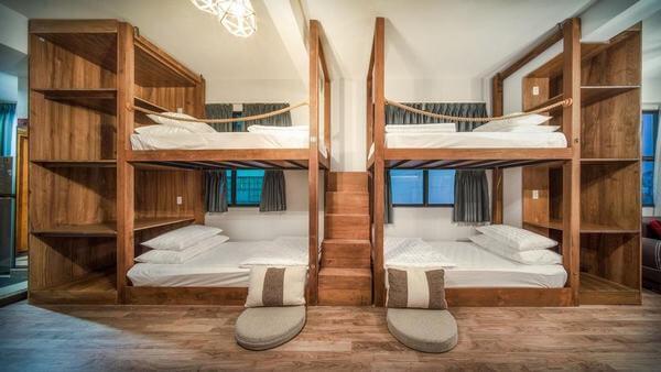 Thiết kế giường tầng homestay du khách rất ưa chuộng