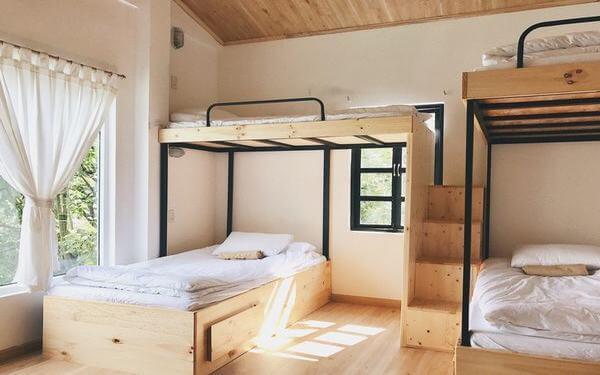 Thiết kế homestay giường tầng độc đáo thu hút mọi du khách