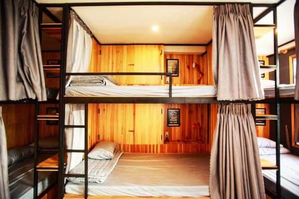 Một số mẫu giường tầng dùng trong các homestay