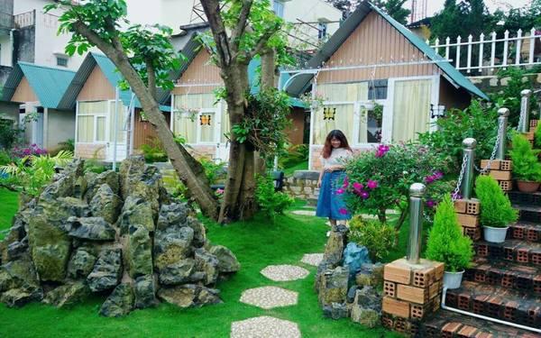 """Thiết kế Homestay sân vườn rộng rãi, thoáng mát tha hồ """"sống ảo"""""""