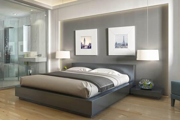 Sự hiện đại của phòng ngủ khách sạn
