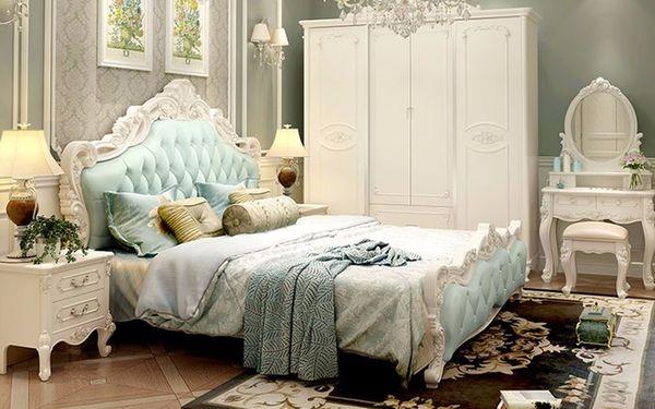 Nội thất trong phòng ngủ được thiết kế và bố trí bắt mắt