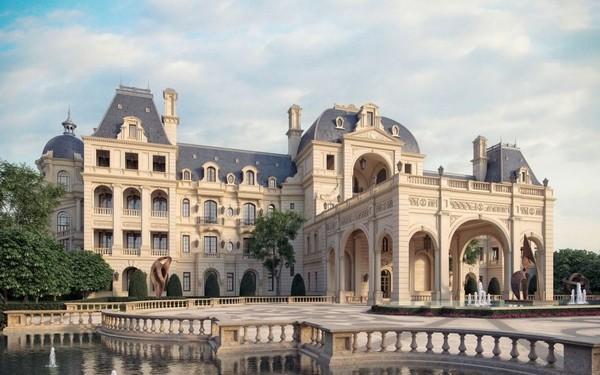 Kiến trúc khách sạn như một lâu đài nguy nga không góc chết
