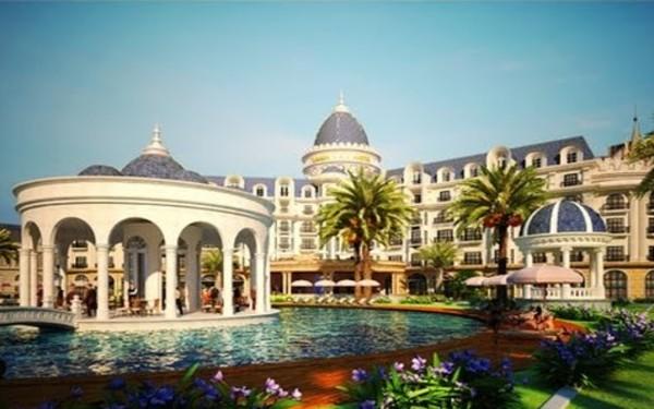 Thiết kế khách sạn kiểu Pháp đẹp tựa tranh vẽ